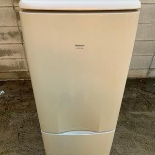 ナショナル2ドア冷凍冷蔵庫137L