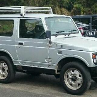 ジムニーJA22W、5MT、車検H32.8、交換可能!