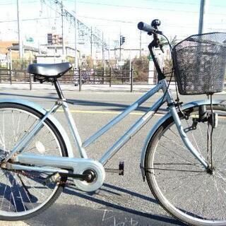 ♪ジモティー特価♪激安!!26型シティサイクル 錆多め中古自転車...