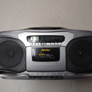 ラジカセ CD カセットテープ ジャンク品