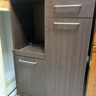 ☆大幅値下げ!! ¥1650 炊飯器台 キッチンボード 食器棚 ...