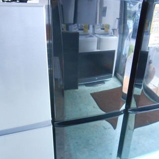 MITSUBISHI 146L 2ドア冷蔵庫 2017年