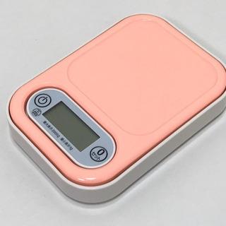 デジタルキッチンスケール 2.0kg用 ピンク