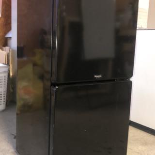 MORITA 2ドア冷蔵庫 2011年 110L ブラック