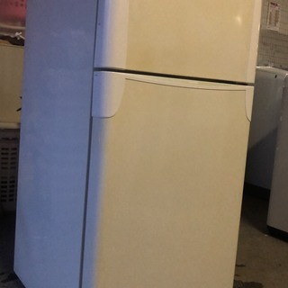 TOSHIBA 2ドア冷蔵庫 2008年 120L ホワイト