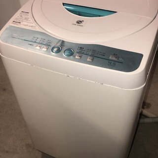 SHARP 洗濯機 2009年 4.5kg