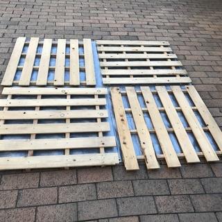 押入れの湿気対策、天然木製すのこ6枚売ります(値下げしました)