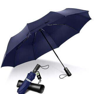 折りたたみ傘 自動開閉 10本骨耐風傘 折れにくいの画像