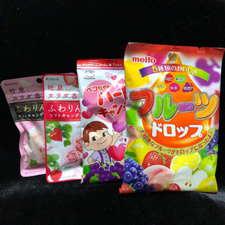 【新品・未開封】キャンディ4点セット 飴 アメ
