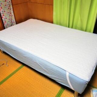 セミダブル ポケットコイル ベッド シーツ、マットサービス