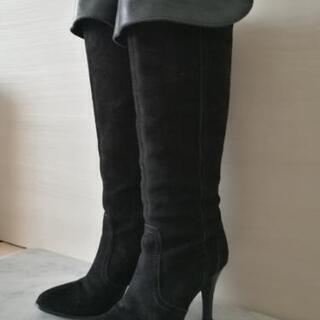 DIANA 2wayロングブーツ 24cm 黒