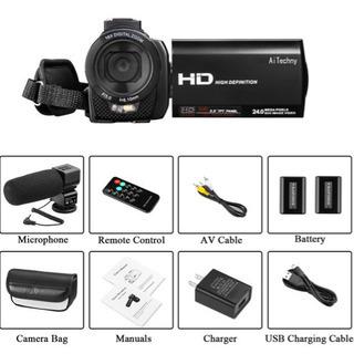 ビデオカメラ AiTechny 新品未使用