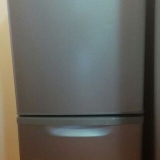パナソニック 2ドア冷蔵庫 138L NR-B144W-S…