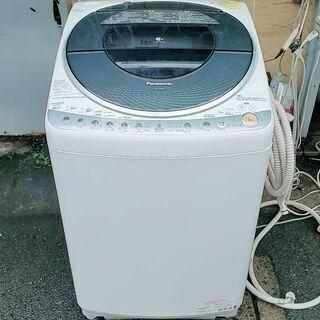 Panasonic8きろ洗濯機2010年式。乾燥未確認