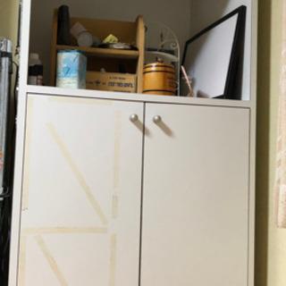 収納棚  ホワイト  無料