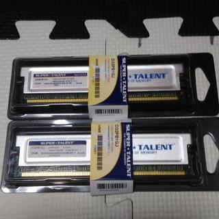 DDR pc3200 1Gバイトメモリの2個セット