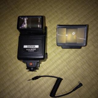 カメラ ストロボ あげます