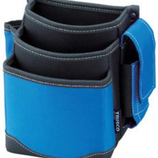 TRUSCO(トラスコ) 腰袋 3段 携帯電話ホルダー付き…