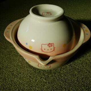 ハローキティ ミニ土鍋