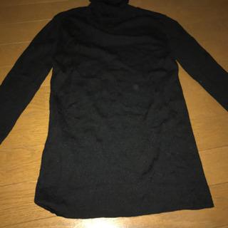 フレームワーク  黒セーター