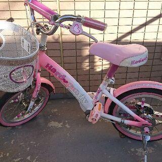 トイザらスオリジナル 自転車16インチ 女の子