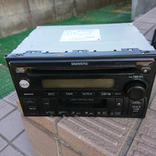 CDカセット 1DINデッキ(ダイハツ純正)あげます!