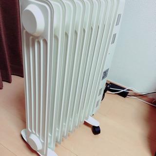 【中古】オイルヒーター  ② - 米子市