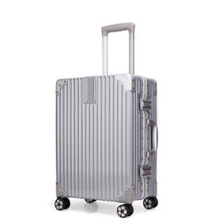 【新品未使用】スーツケース/シルバー