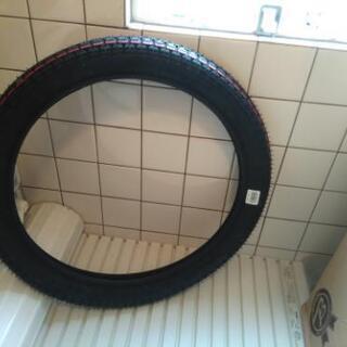 スーパーカブの普通タイヤ