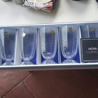 HOYAのクリスタルガラス(新品未使用)