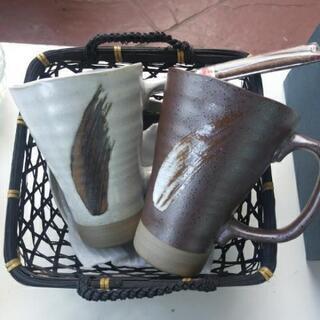 和食器セット販売(マグカップ、小皿、皿、お箸)