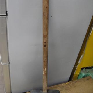 超BIGゴムハンマー 全長90cm くい打ち 解体 杭打ち
