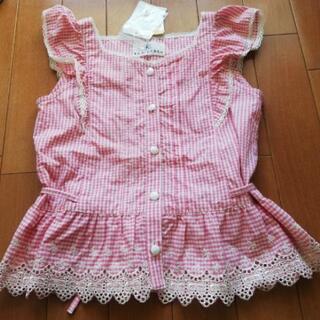 【新品タグ付き】組曲キッズシャツ120〜130L