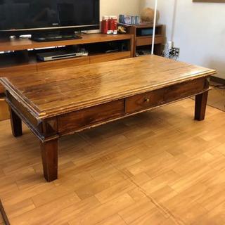 【希少】アジアンテーブル、ローテーブル、リビングテーブル、バリ風