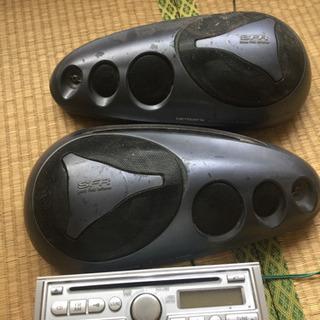 エブリー64v 純正デッキとスピーカーセット