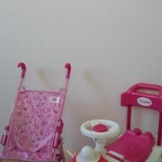 【プロフ必読】お値下げ!室内カート&屋外おもちゃベビーカー