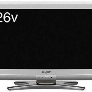 シャープ 26V型 液晶 テレビ AQUOS LC-26E6