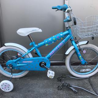補助輪付き子供自転車 DUALLY GIRL ジュニアバイク