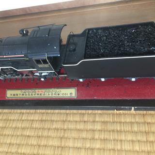 D51 お召し列車 スチール模型
