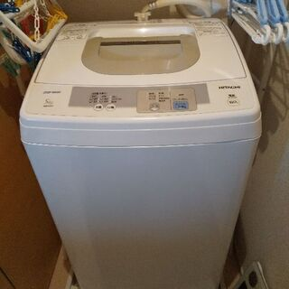 洗濯機 HITACHI 2015年製 5kg