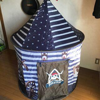 子供用 海賊テント 秘密基地 室内テント おもちゃ スィルクステルト