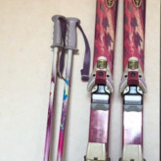 レディス サロモン スキー道具