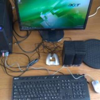 acerデスクトップpc(os付き)、付属品