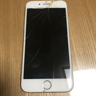 (ジャンク品)iPhone 6 Silver