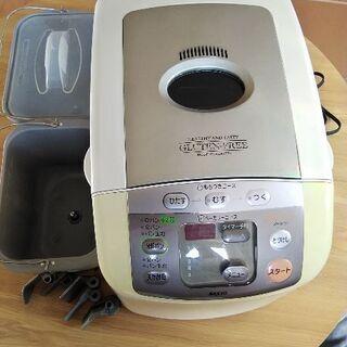 サンヨー ホームベーカリー(餅つき機能付き)SPM-MP31(W)
