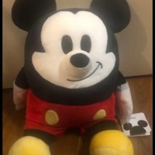 ミッキーマウスモチモチぬいぐるみ