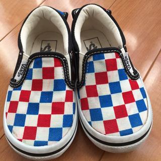 [値下げ] VANS 子供靴 16センチの画像