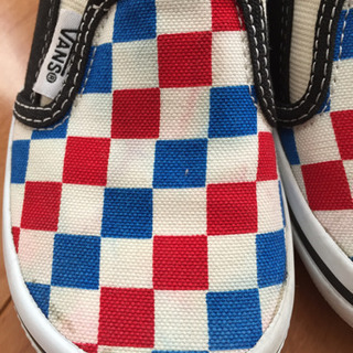 [値下げ] VANS 子供靴 16センチ - 朝霞市