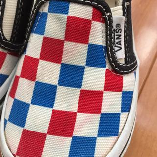 [値下げ] VANS 子供靴 16センチ - 子供用品