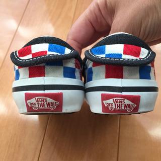 [値下げ] VANS 子供靴 16センチ − 埼玉県